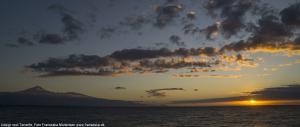 DSCF3412Teide og solopgang