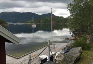 For anker ved Ådnøya