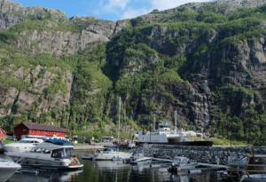 Lysebotn i Lysefjord