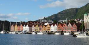 Fuga ved Bryggen i Bergen