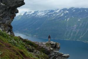Dronningstien, Hardangerfjord