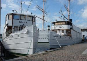 Gøtakanal færgerne Juno, Diana og Wilhelm Tamm