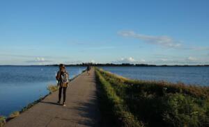 Dæmningen mellem Askø og Lilleø